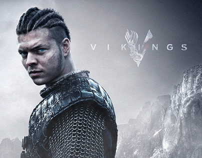 Vikings characters - photo compositing