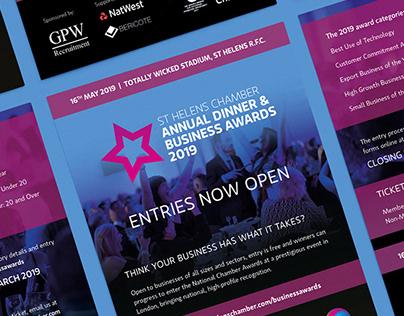 St Helens Chamber Annual Dinner & Business Awards 2019