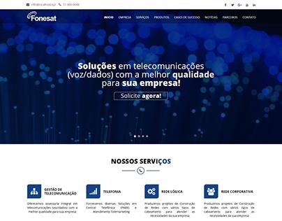 Layout PSD | Fonesat