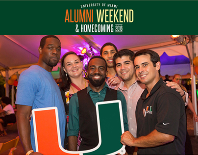 University of Miami - 2016 Homecoming mailers