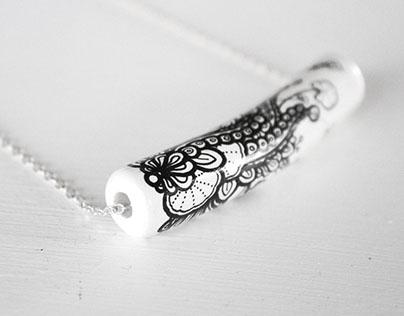 Handmade, handdrawn Jewellery