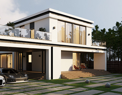 Visualization of a country house