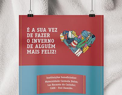 Campanha do Agasalho - Instituto Nexxera