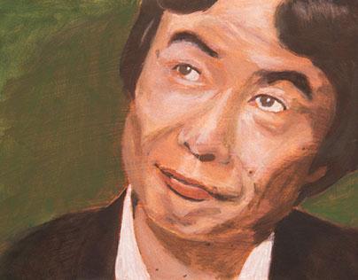 Traditional Illustration; Shigeru Miyamoto