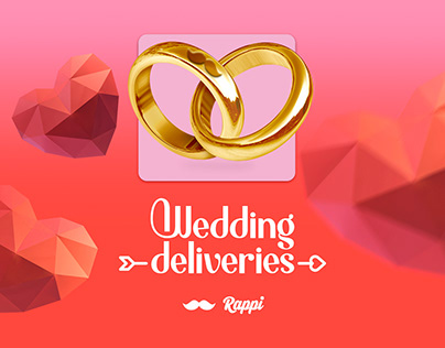 Rappi Wedding deliveries