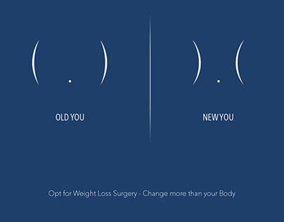 Weight loss surgery transformation