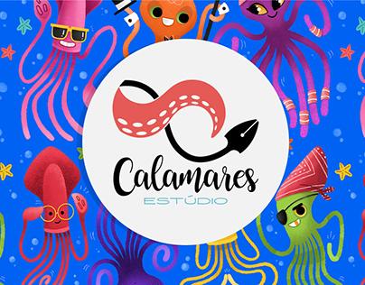 Conheça o ESTÚDIO CALAMARES!