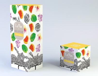 Packaging design for OLAVIE