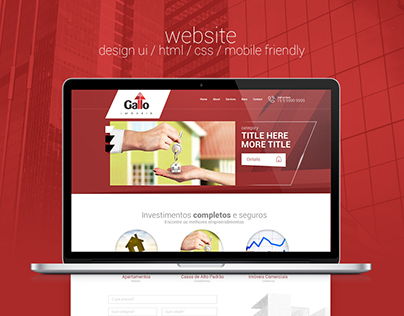 Website design html/css Mobile Friendly