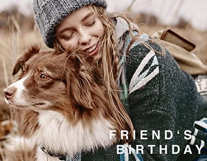 FRIEND'S BIRTHDAY