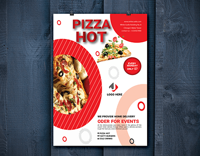 Pizza Flyer A4