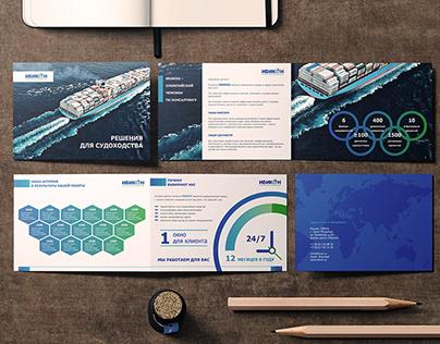 Дизайн и верстка каталога консалтинговой компании