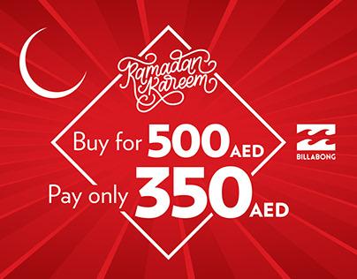Billabong Ramadan campaign