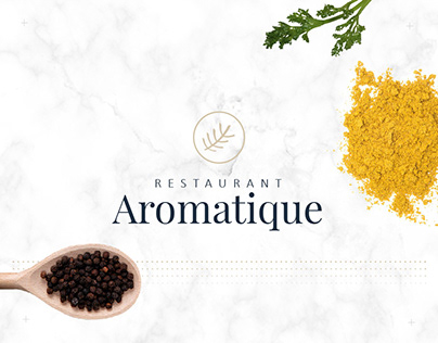 Aromatique - Visual identity