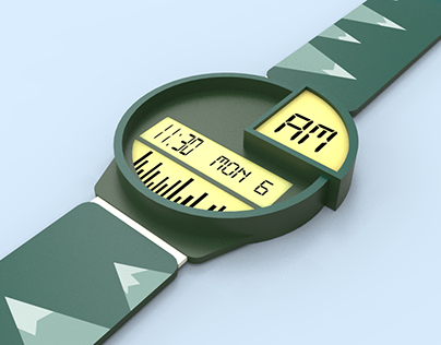 The Peak: A Swatch Concept Watch