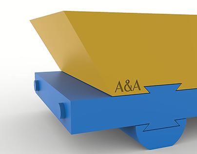 SVUOTATASCHE CAR © // Furniture Design by A&A