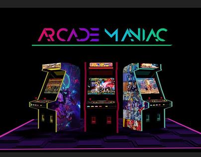 Arcade Maniac - 3D Modeling/Rendering