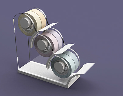 Washi Tape Dispenser Design