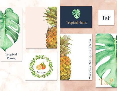 Tropical Fruits and Plants
