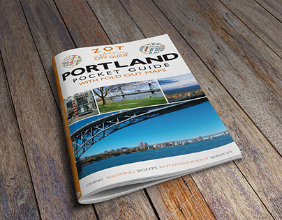 Portland Pocket Guide with Fold-Out Maps