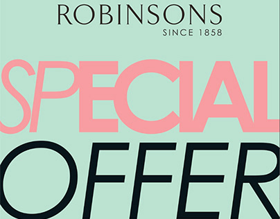 Robinsons Special offer