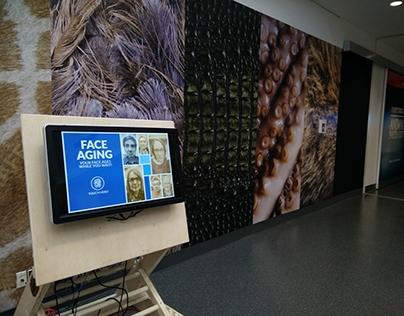 Face Aging Digital Exhibit