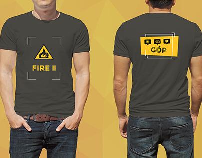 FIRE II T-shirt (2017)