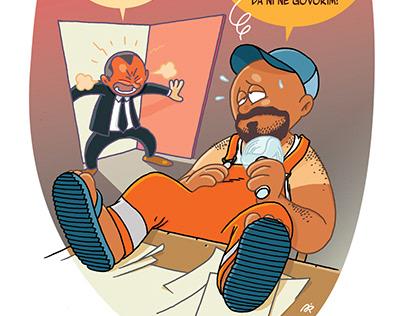 Ilustracije za časopis KOSMO.at II