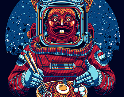 Cepot Astronaut And Chicken Noodle
