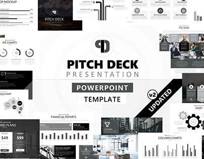 Pitch Deck - Powerpoint Presentation