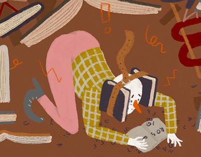 Cover illustration Författaren