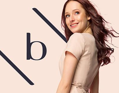 Bombshe – logo and name for luxury dresses