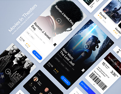 inTheaters. Interactive mobile app experience