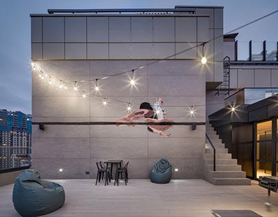 Project HD# «Дім на даху»
