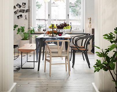 Scandinavian Apartment 35