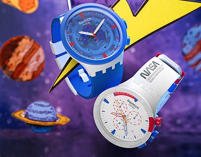 Swatch BB NASA – Campaign – 2021