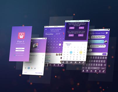Plan it App UX/UI Project