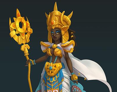 Sun priestess