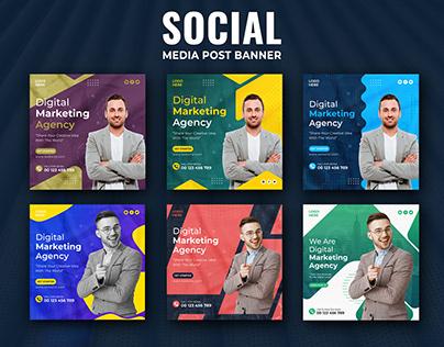 Digital Marketing Business Social Media Post Banner