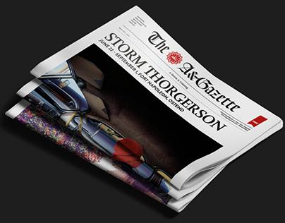 The A&Gazette - Storm Thorgerson