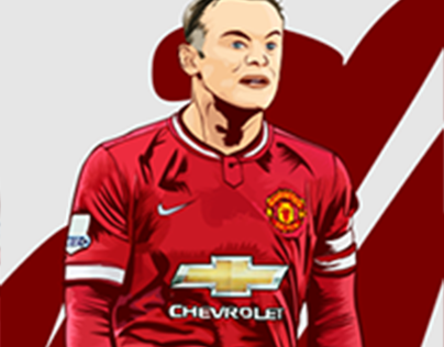 "New vector art for ""Wayne Rooney"""
