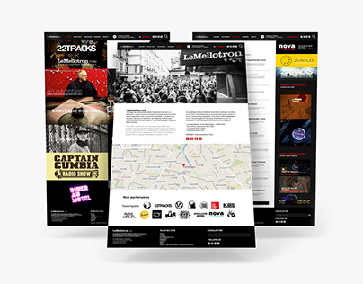 LeMellotron - Redesign website