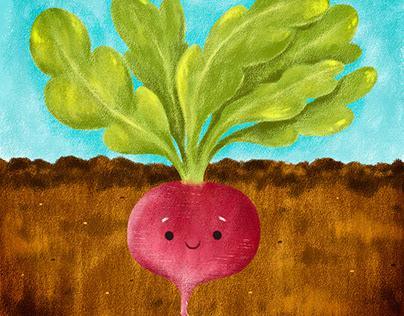 Vegetables - Cute