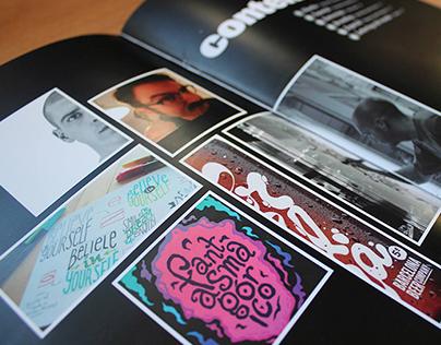 Revista ING, Lettering y Diseño