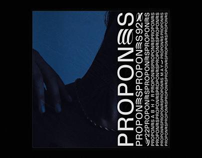 PROPONES - ABHIR HATHI artwork + motion