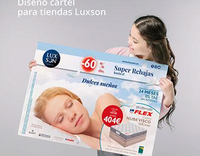 Campaña SUPER REBAJAS para Luxson Beds