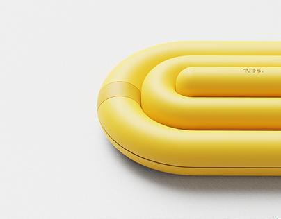 tube. / summer