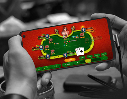 China Poker Game UI