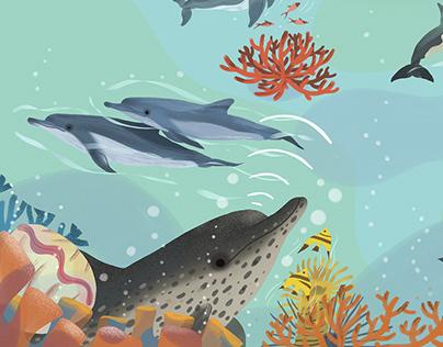 慢成长杂志18年自然类插图