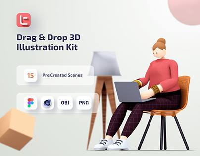 Trinity 3D Illustration Kit